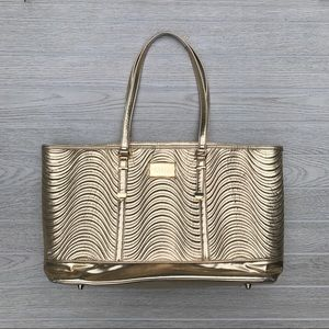 Versace Parfums Large Gold Tote